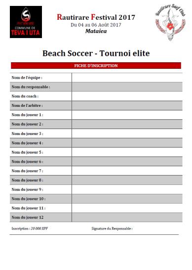 BS tournoi Elite