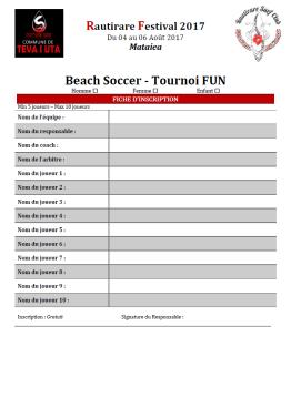 BS tournoi Fun