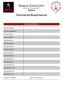 BS tournoi