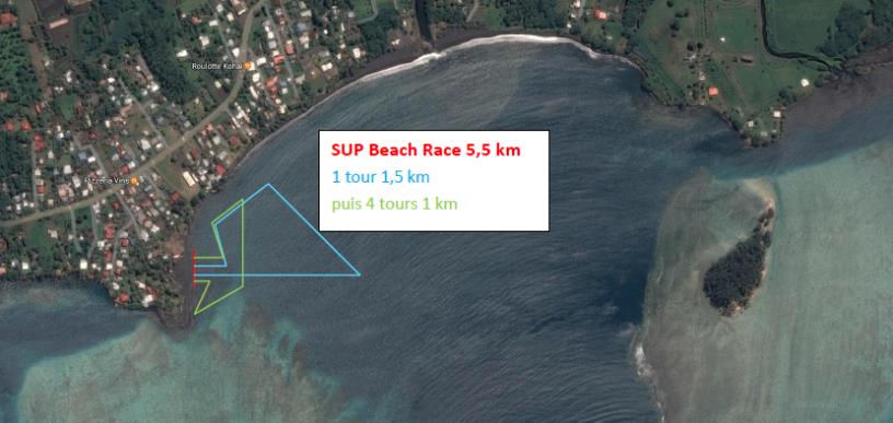 SUP Beach Race